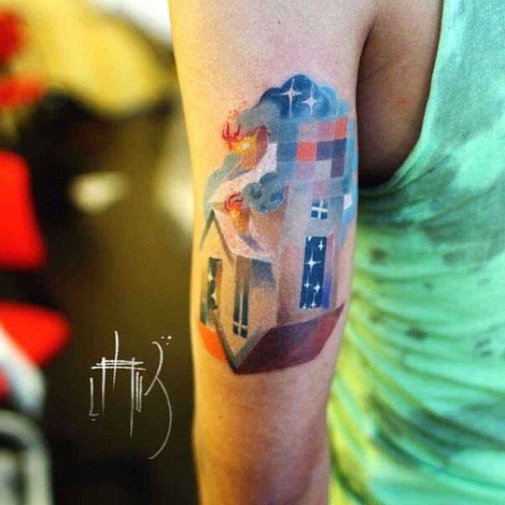 Best Tattoos Images On Pinterest Tattoo Tattoo Artists And - Artist creates amazing animal tattoos with digital pixel glitches
