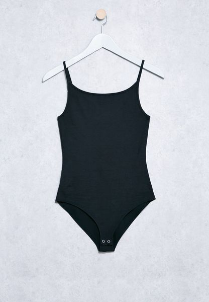 Forever 21 black Essential Cami Body 00193666 for Women Online Shopping in Dubai, Abu Dhabi, UAE - ✓ Free Next Day Delivery ✓ 14-day Exchange, ✓ Cash On Delivery