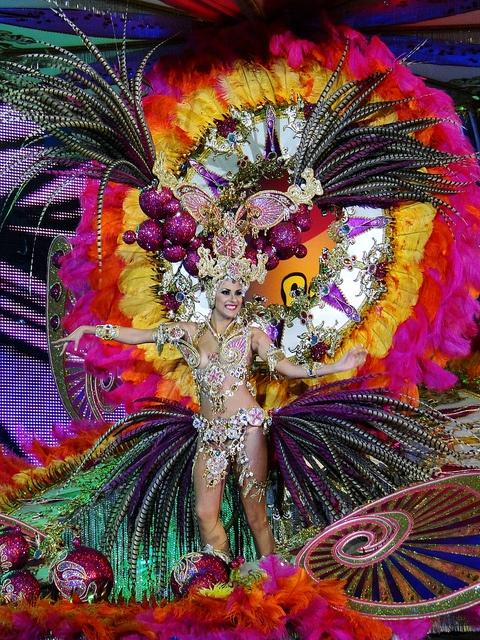 Carnival 2012 on Tenerife, Canary Islands, Spain