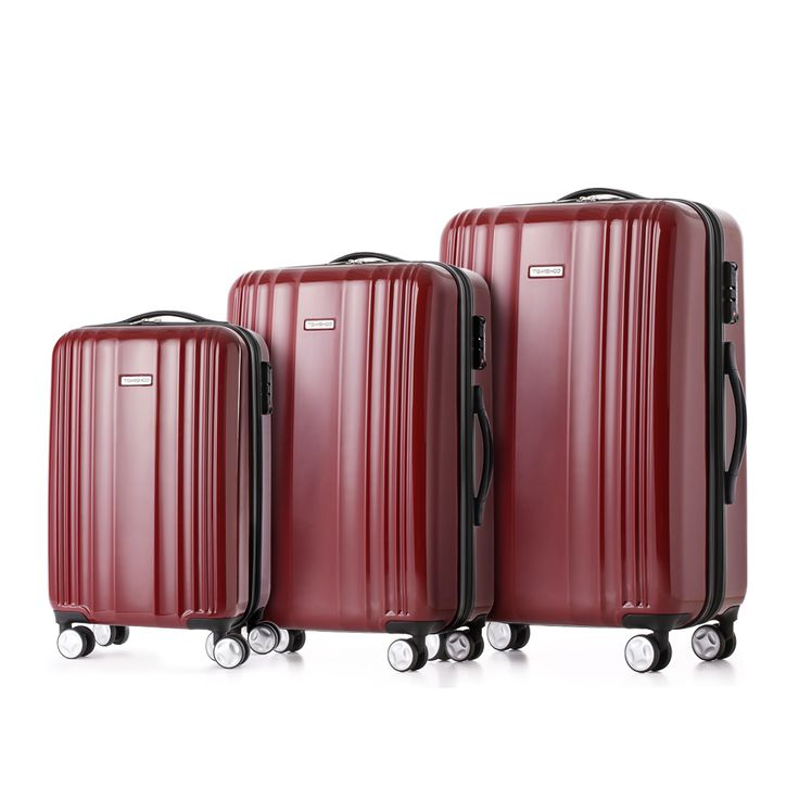 Buy best red TOMSHOO Luxury Shiny 3PCS Luggage Set Suitcase Set from LovDock.com. Buy affordable and quality Luggage online, various discounts are waiting for youhttps://www.lovdock.com/p-h17246r.html?aid=C6624