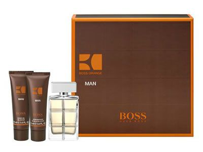 Hugo Boss Orange Man 60ml Gift Set Includes Boss Orange Man EDT 60ml, After Shave Balm 50ml and Shower Gel 50ml. Boss Orange Man begins with energizing top notes of crisp apple and corriander over a renious, warm heart note of masculin http://www.MightGet.com/february-2017-2/hugo-boss-orange-man-60ml-gift-set.asp