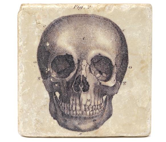 Skull Marble Coaster... NEED.