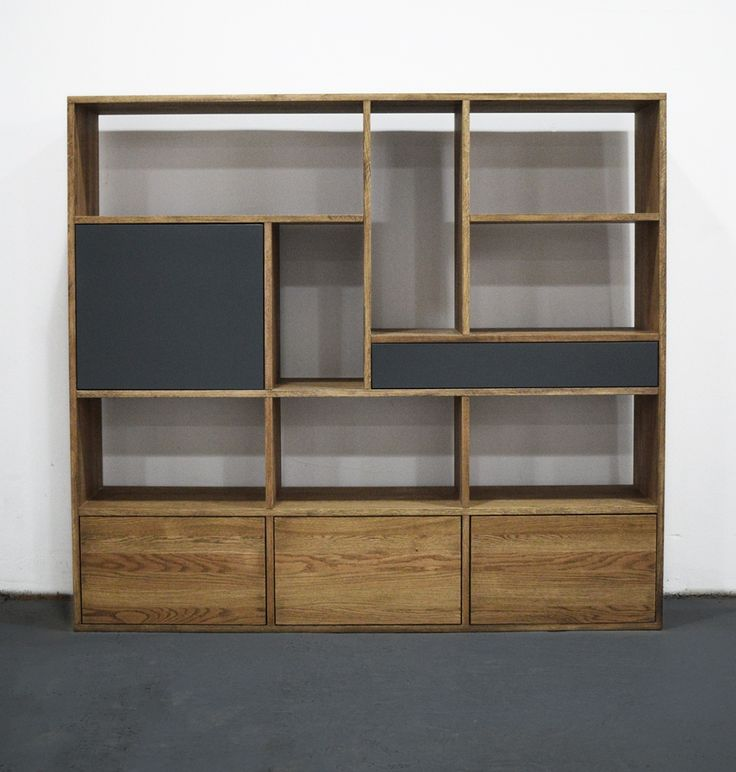 minimal oak bookcase by willion.hu