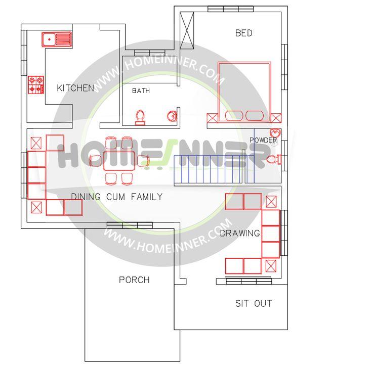 Beautiful 1500 Sq Ft Modern House Plan