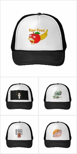 Weird Cartoon Trucker Caps