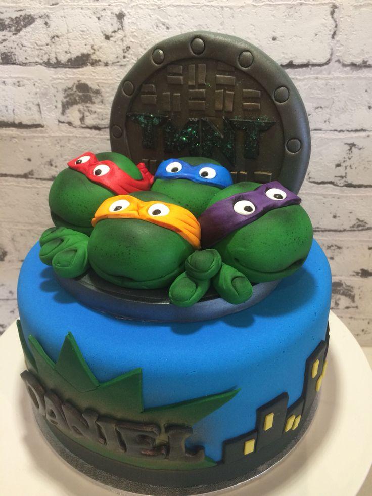 TMNT cake topper