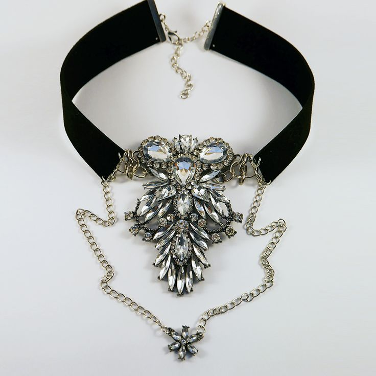 After Party: A statement choker is a party must-have this season and this one really packs a style punch! The oversized crystal pendant is guaranteed to bring the sparkle right through to New Year - even if you're all partied out!  Find it here: http://www.eleanorhalljewellery.com/collections/christmas/products/afterparty