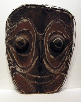 New Guinea bark mask  Artist: Sepik, New Guinea  Artwork title: Mask