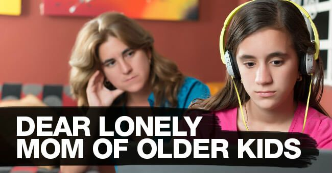 Remember when it was easy to post photos of your adorable baby, or messy toddler on Facebook? Well, now that they're older...it can be a lonely time.