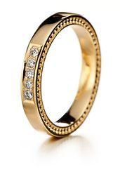 Lumoava tahdon kultainen timanttisormus - Lumoava kihlasormukset & vihkisormukset - LU 7233 30 - 1