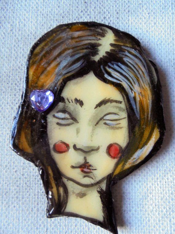 das Gesicht...the face... von MizumiART auf Etsy