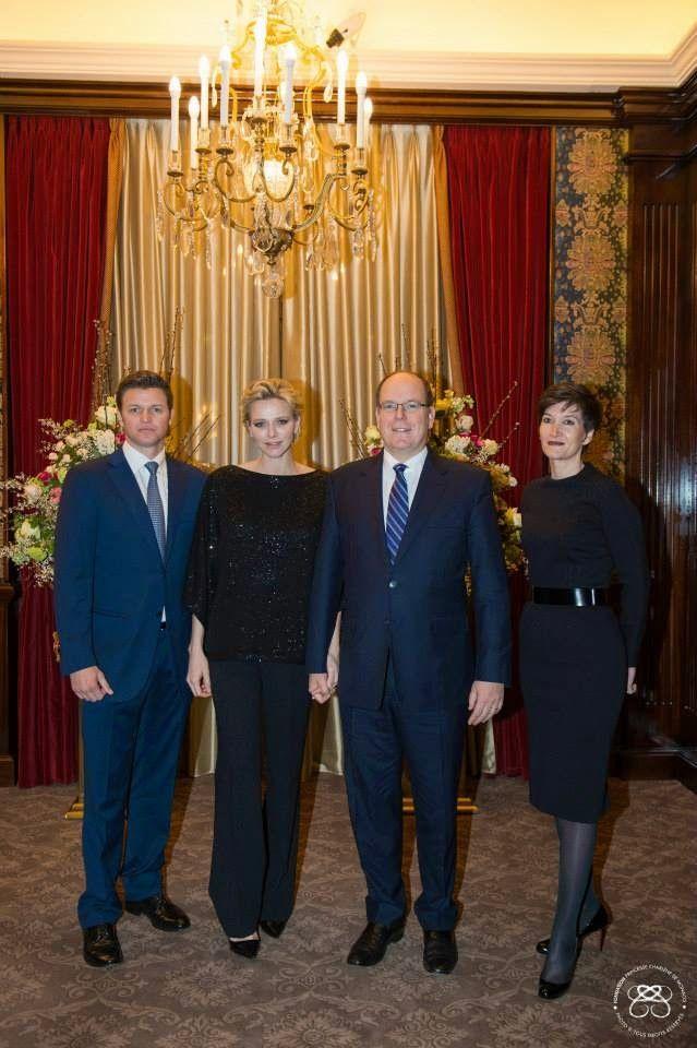Reines & Princesses: Soirée de la fondation Princesse Charlene, Monaco