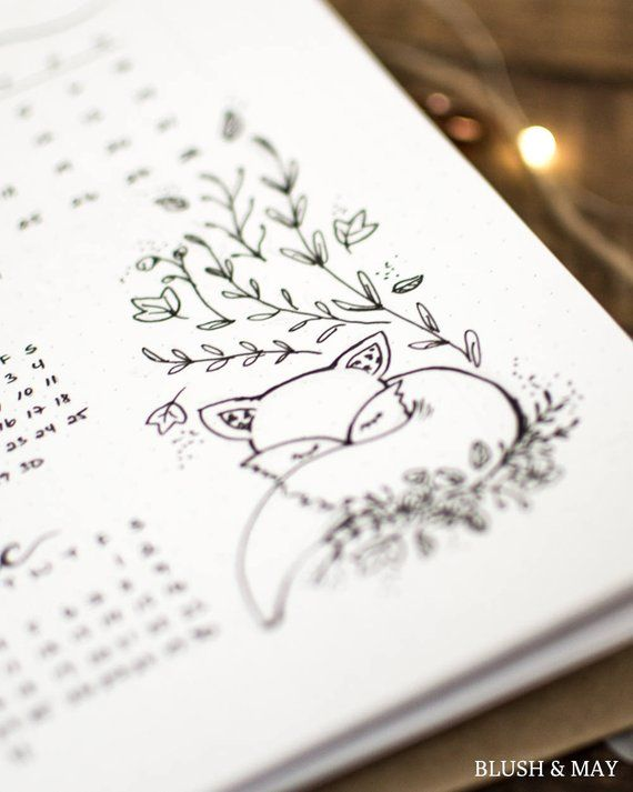 Full Clean Arrange | Printable for Journal or Planner – Owl