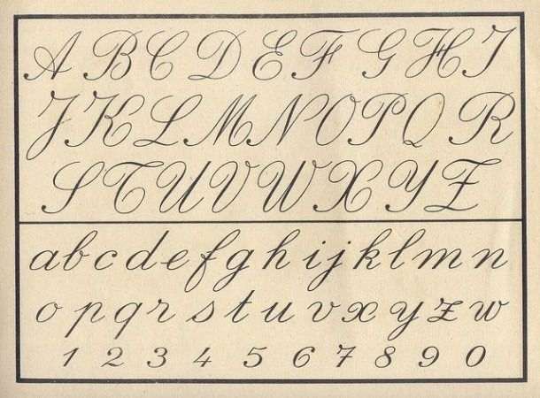 Old Cursive Fonts Fonts In 2020 Cursive Writing Cursive Alphabet Cursive Writing Worksheets