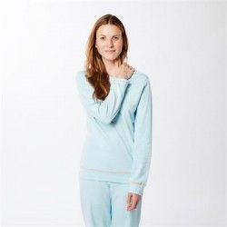 Pijama mujer otoño 100% algodón orgánico Living Crafts