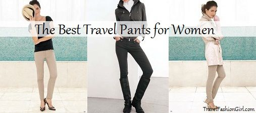 I'm totally convinced. (But do they come in maternity sizes?)  best-travel-pants-for-women-function-and-fashion