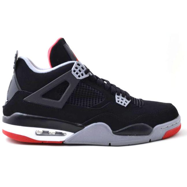308497-089 Air Jordan 4 Bred Black/Cement Grey-Fire Red   $120   http://www.myshoesonline2014.com/308497-089-air-jordan-4-bred-black-cement-grey-fire-red-646.html