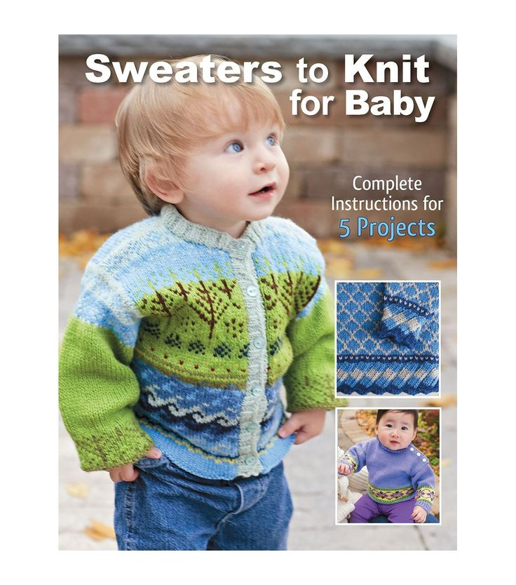 Sweaters To Knit For Baby Book