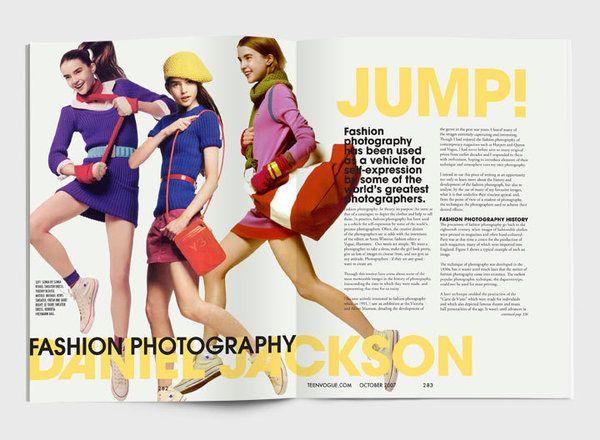 Fashion Magazine Spread Inspiration