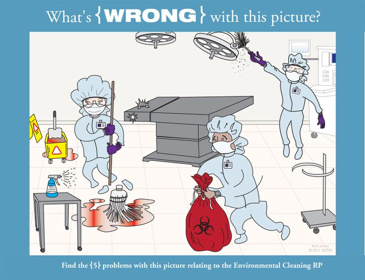 What's Wrong with this Picture: Environmental Cleaning ...