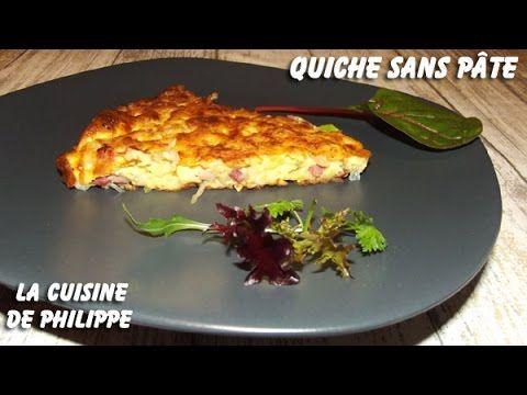 (261) Quiche sans pâte - YouTube