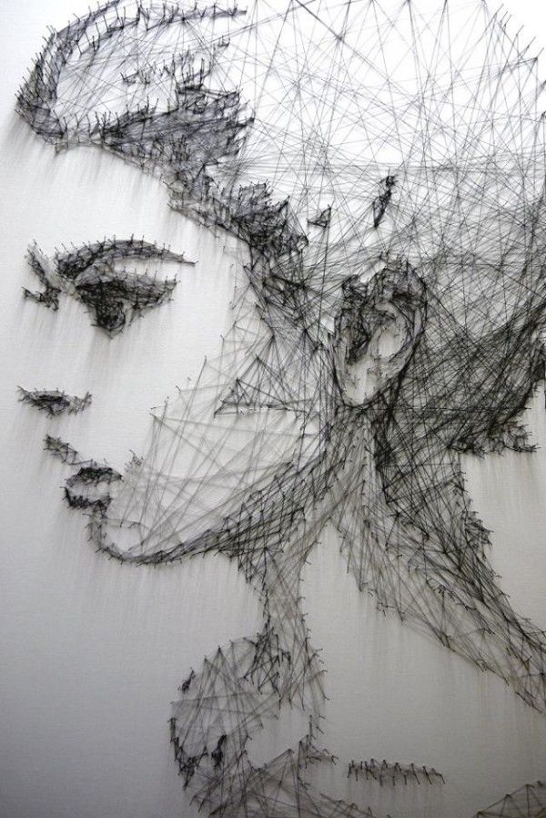 Incredible portraits and art installations by Debbie Smyth - ego-alterego.com