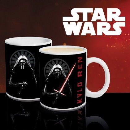 Mug Thermoréactif Kylo Ren Star Wars Ep 7 : Kas Design, Distributeur de Produits Star Wars