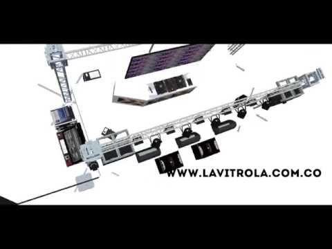 LA VITROLA SOUND & LIGHTS - YouTube
