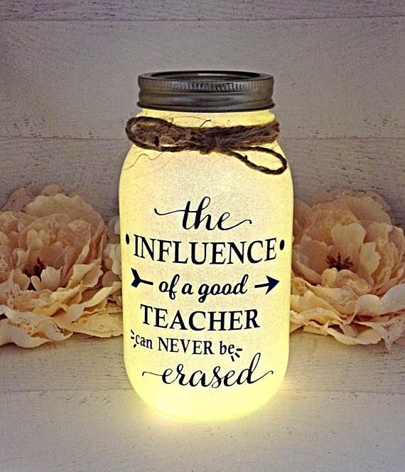 Teacher Gifts Teacher Gift Teacher Appreciation Nite Light