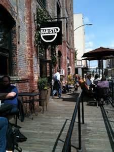 Barista Portland Oregon.  Had the best Cafe Mocha