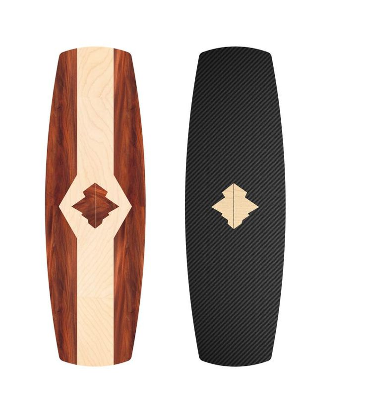 • Mahogany x Maple || Carbon x Maple • wakeboards by #Pureslo (http://www.pureslo.fr/)