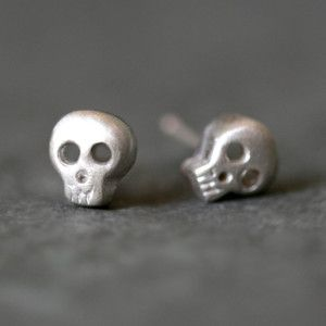 Michelle Chang Skull Earrings, $49, now featured on Fab.
