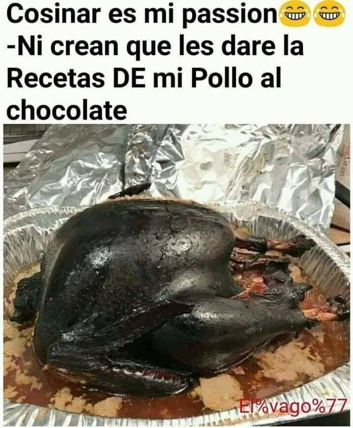 Pin De Mabelgrufi En Chistes Memes Frases De Chef Pollo Cocinero