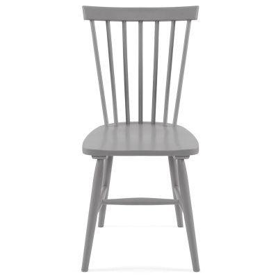 Wood pinnestol H17, grå