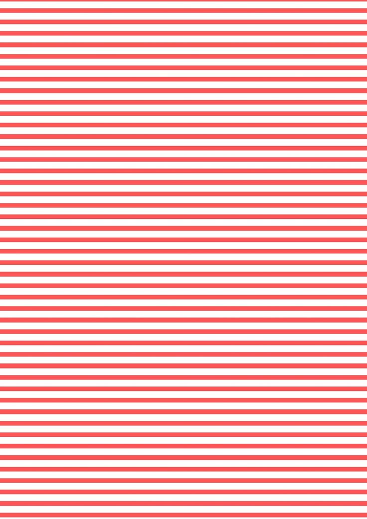 FREE printable red-white stripes pattern paper ^^ | FREE ...