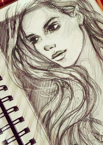 Over Winter by =gabbyd70 on deviantART | Design: girl illustration ...