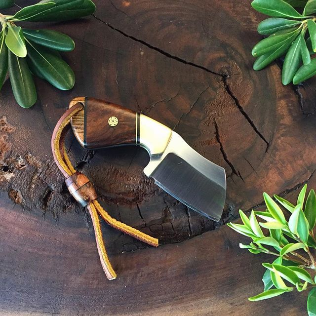DARBY in 5160 with Bocote & Ironwood with Brass Bolster and G10 liners with Mosaic pin-SR