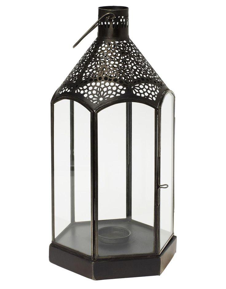 TAIF ljuslykta svart | Lanterns | Ljus & lyktor | Inredning | INDISKA Shop Online