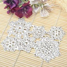 Six snowflakes Metal Dies Cutting Stencils For DIY Scrapbooking Paper Card Decor