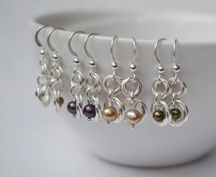 Chainmaille and beads