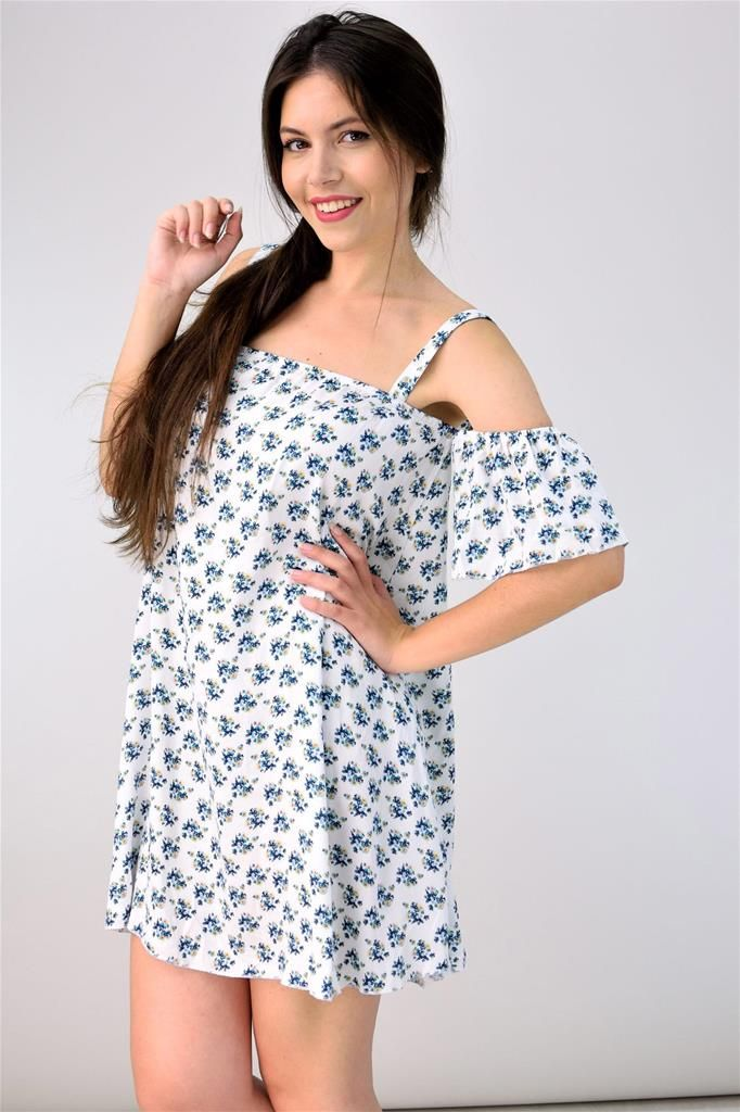 Potre – Mini floral φόρεμα