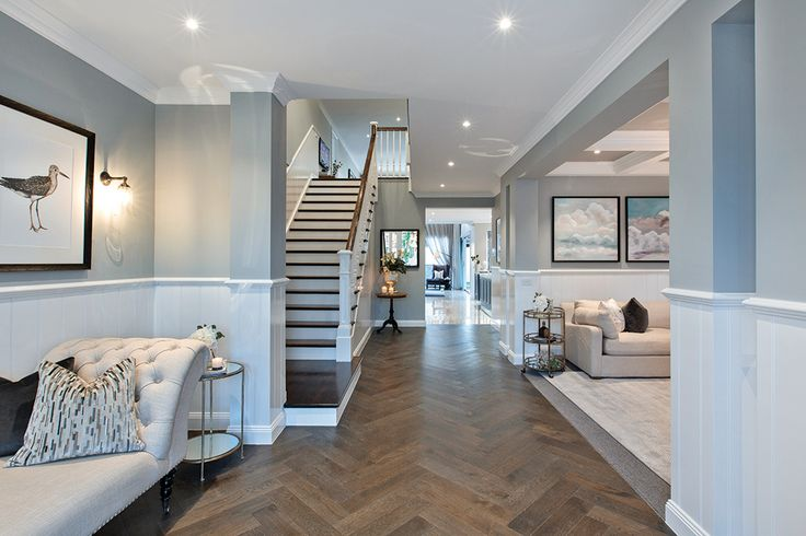 Grand entrance in the Astor Grange with Classic Hamptons World of Style.