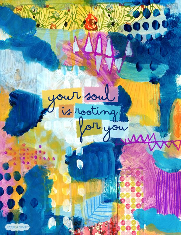 your soul is rooting for you