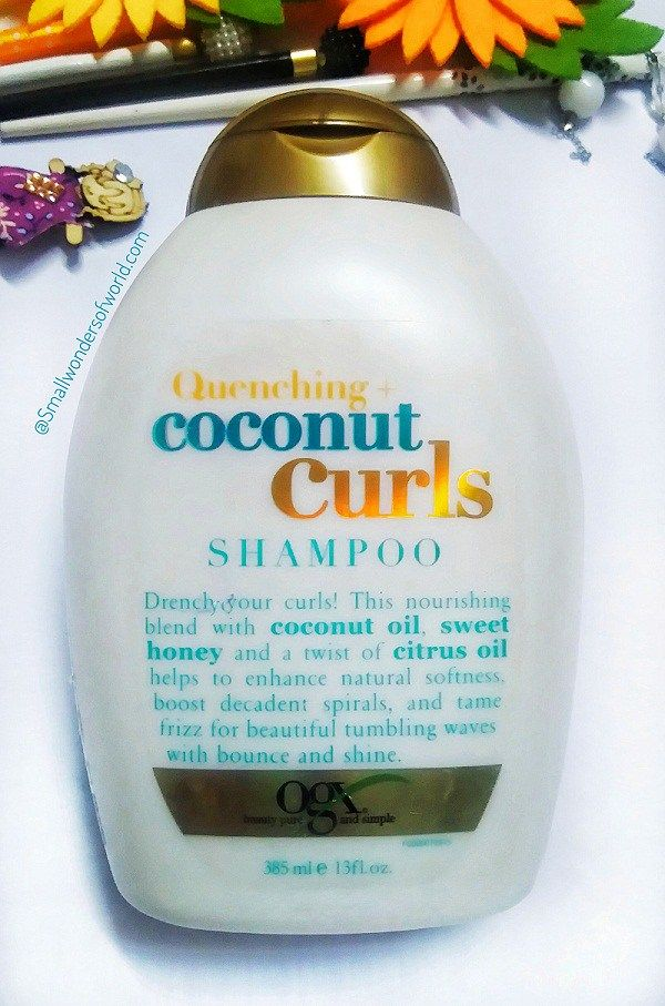 Ogx Quenching Coconut Curls Shampoo Curl Shampoo Shampoo