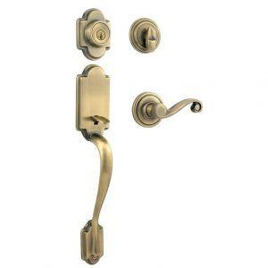 Solid Brass Exterior Door Hardware