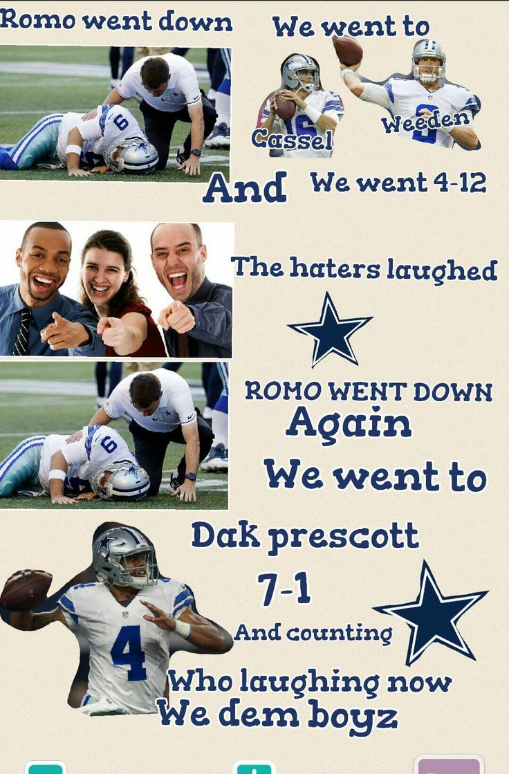 Now 8-1 on 11-13-2016    Love me some Dak!                                                                                                                                                                                 More