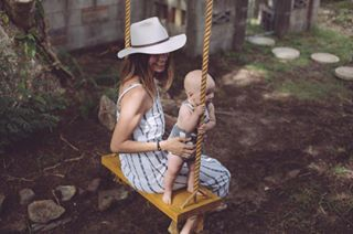 Designer Carlie Ballard explains the juggle of being a designer and a mum of two babies under two.