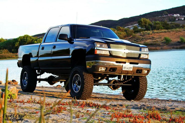 Big back jacked up chevy trucks | Thread: Truck photo ...