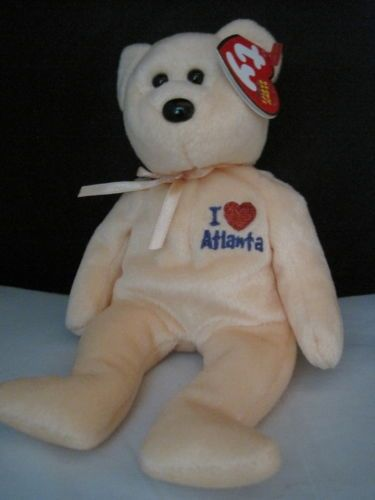 New-TY-Hot-Atlanta-Beanie-Baby-Collector-039-s-Quality-with-Tags