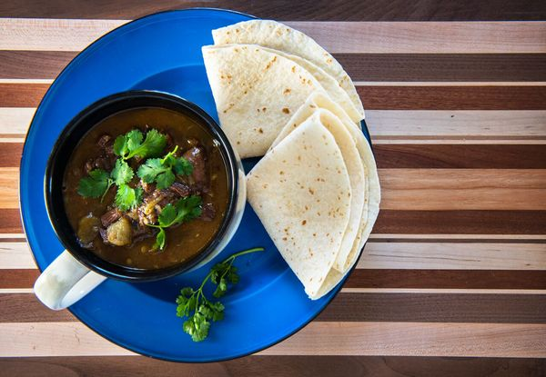 Venison Chile Verde (aka green chile) - recipe calls for elk but it's equally brilliant with venison, antelope, or other red meat